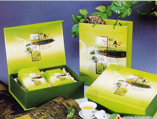 绿色环保茶叶包装盒设计印刷